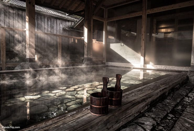 Traditional Japanese Onsen