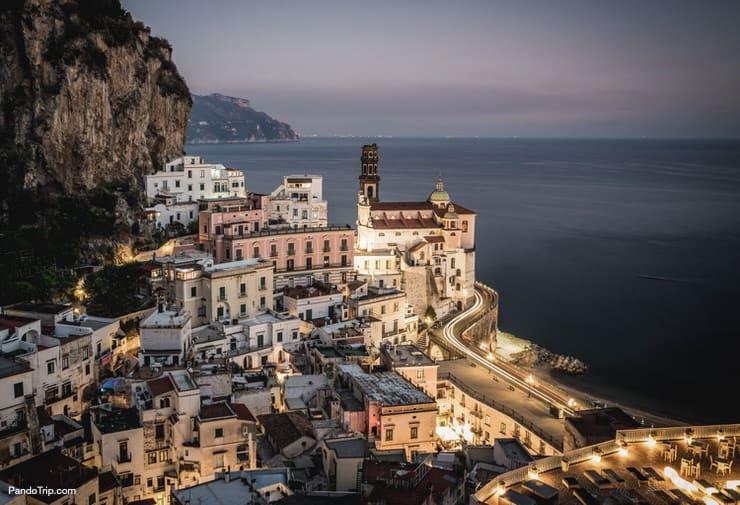 Beautiful village of Atrani, Amalfi Coast, Italy