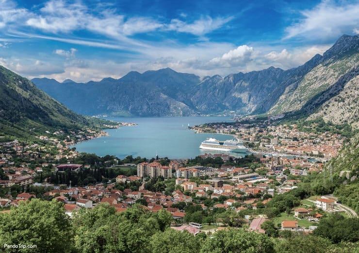 Breathtaking view of Kotor, Montenegro