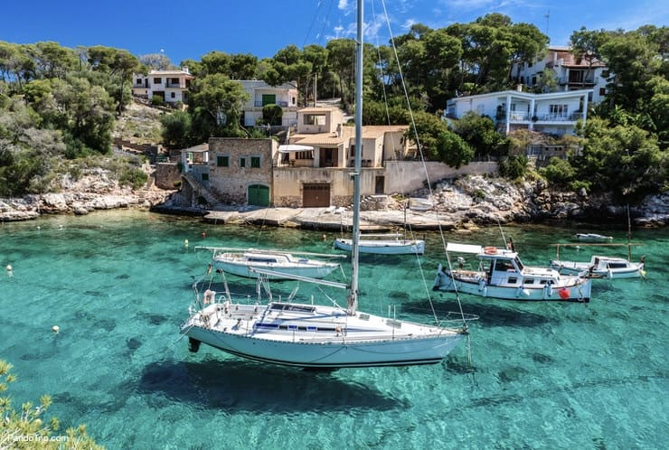 Cala Figuera harbour, Mallorca, Spain