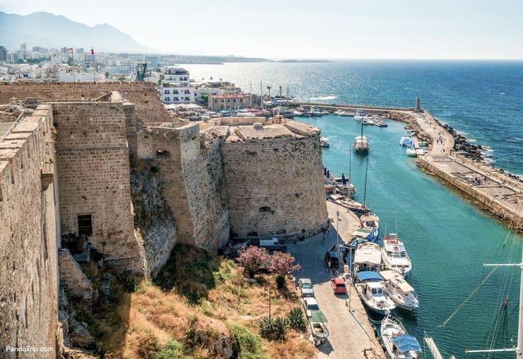 Kyrenia Castle in Cyprus