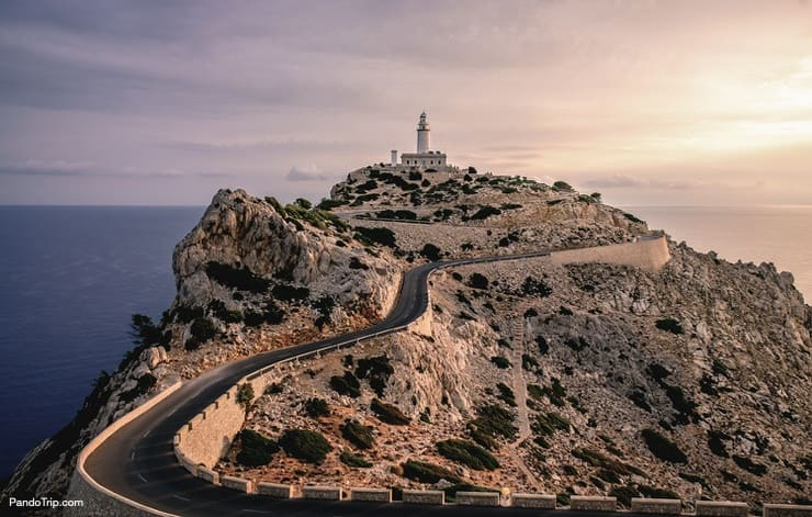 Lighthouse of Cap de Formentor, Mallorca, Spain